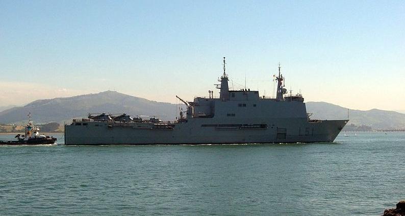 """Buque de asalto Anfibio (BAA) L-51 """"Galicia"""""""