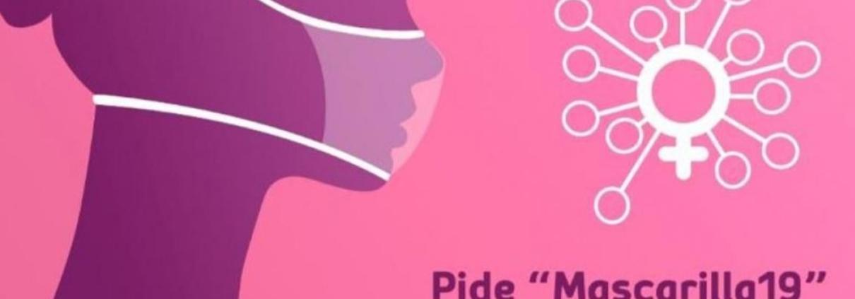 Contra la violencia de género, Mascarilla 19